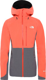 The North Face Apex Flex GTX 2.0 Jacke Damen orangevanadis grey heather